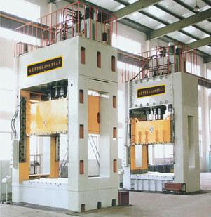 YZB27系列四柱式单动薄板冲压液压机